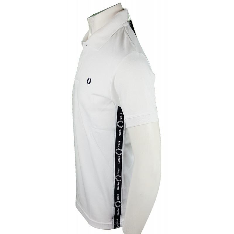 Polo Fred Perry Hombre Blanco Ref.1882