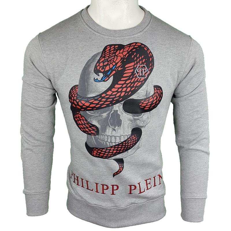 Jersey Philipp Plein Hombre Gris Ref.11158