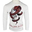 Jersey Philipp Plein Hombre Blanco Ref.11159