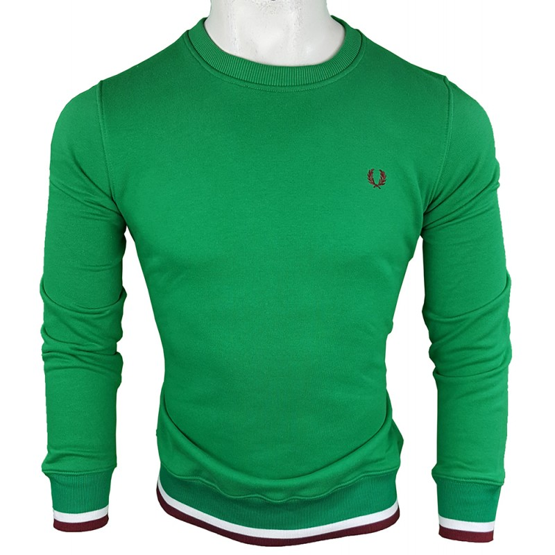 Jersey Fred Perry Hombre Verde Ref.1903