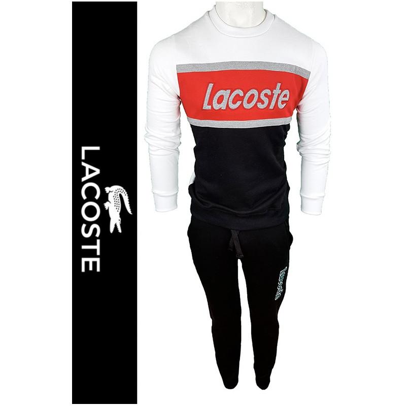 Conjunto Pantalones y Jersey Lac. Hombre Blanco Ref.12119
