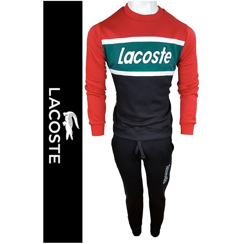 Conjunto Pantalones y Jersey Lac. Hombre Rojo Ref.12118