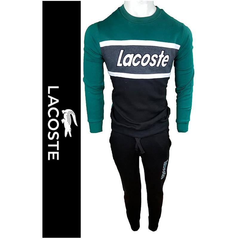 Conjunto Pantalones y Jersey Lac. Hombre Verde Ref.12120