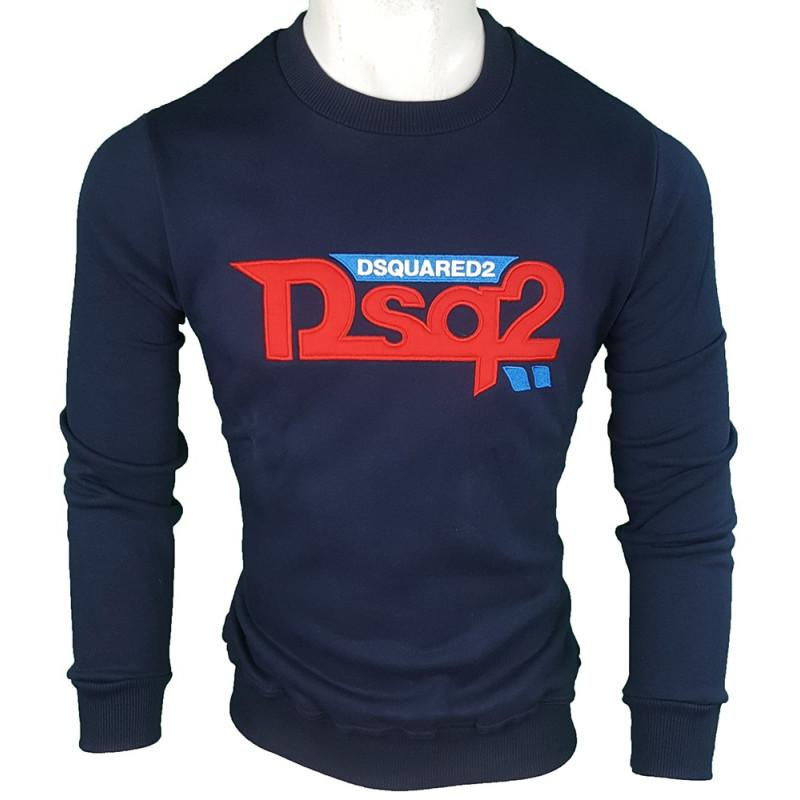 Jersey Dsquared2 Hombre Azul Marino Ref.2928