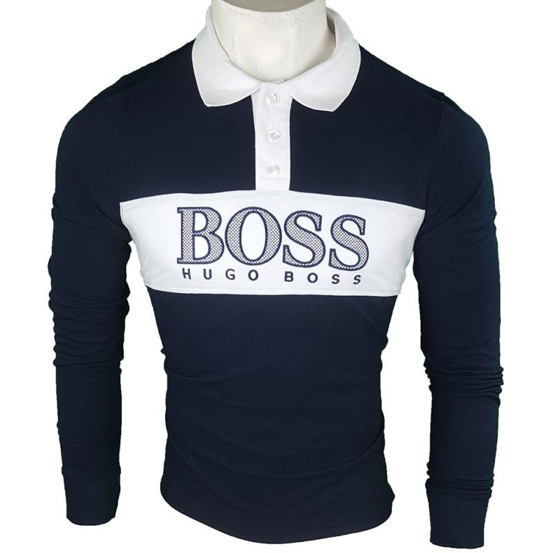 Polo Hugo Boss Hombre Azul Marino Ref.9248