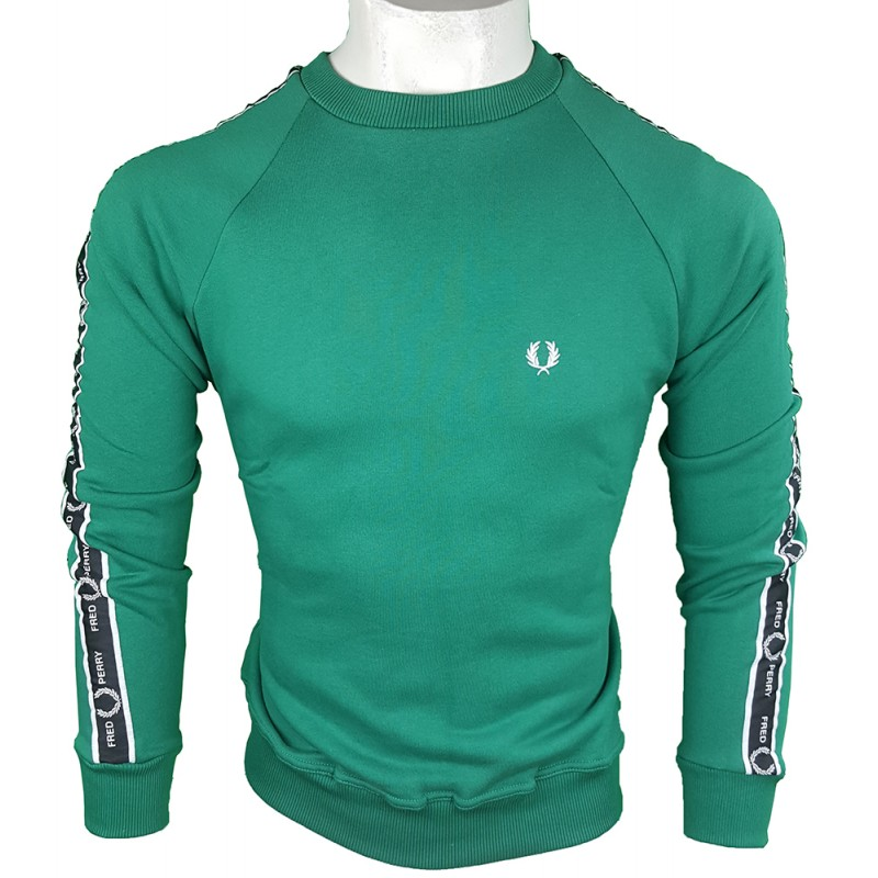 Jersey Fred Perry Hombre Verde Ref.1915