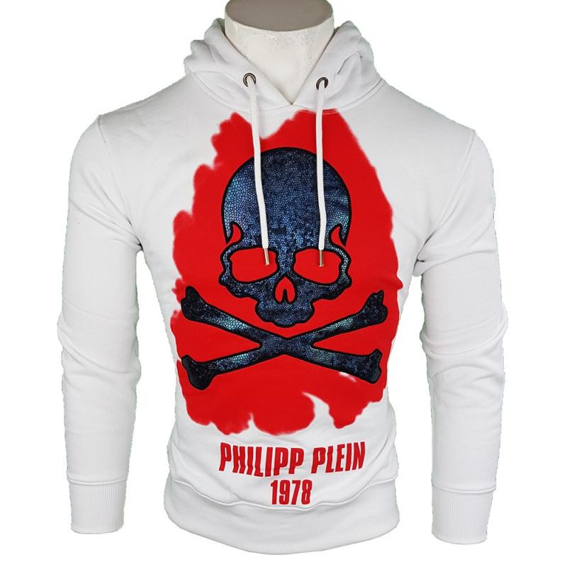 Sudadera Philipp Plein Hombre Blanca Ref.11166