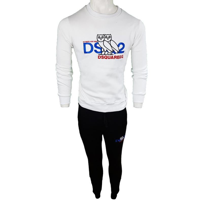 Conjunto Pantalones y Jersey Dsquared2 Hombre Blanco Ref.2935