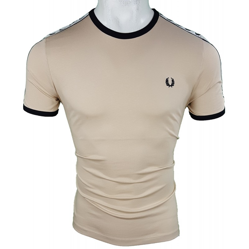 Camiseta Fred Perry Hombre Camel Ref.1925