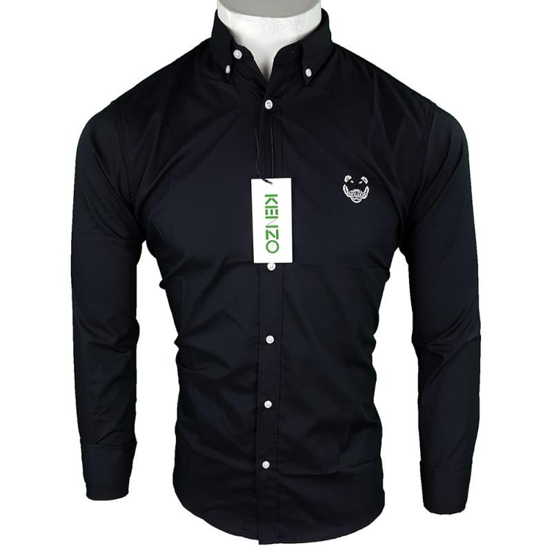 Camisa Kenzo Hombre Negra Ref.70027