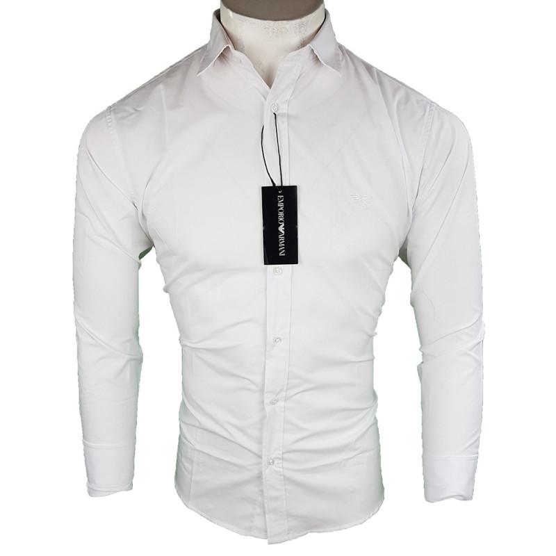 Camisa Emporio Armani Hombre Blanca Ref.6391