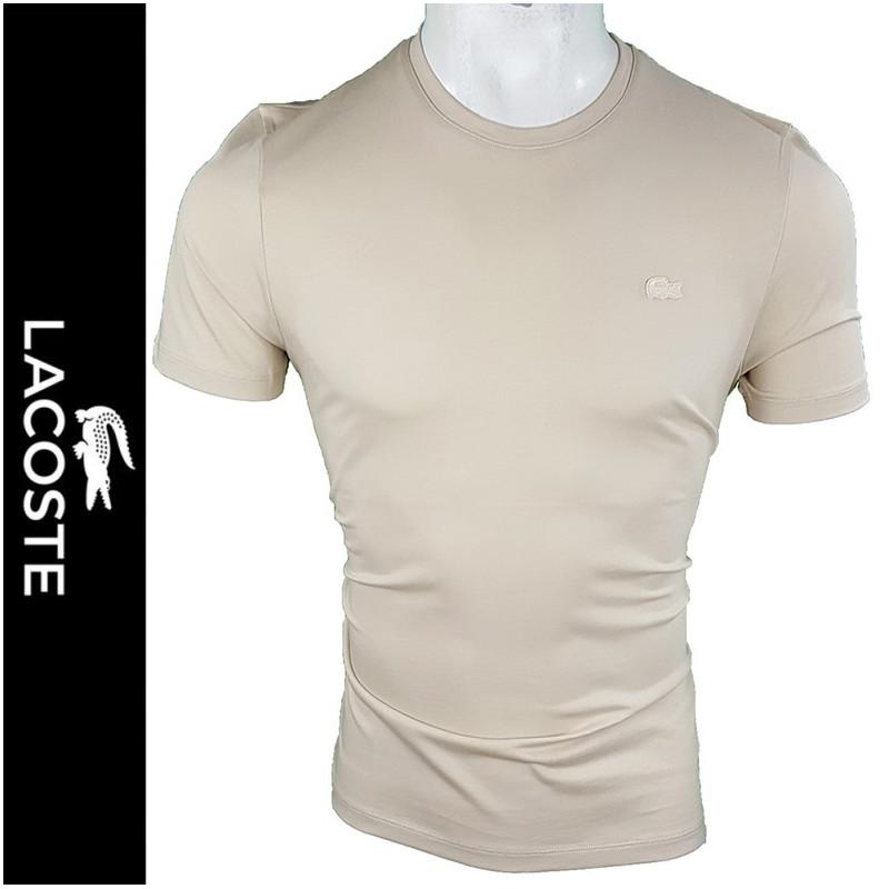 Camiseta Lac. Hombre Beige Ref.12133