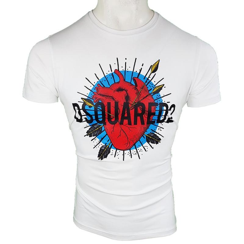 Camiseta Dsquared2 Hombre Blanca Ref.2937