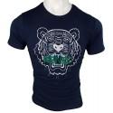 Camiseta Kenzo Bordada Hombre Azul Marino Ref.70028