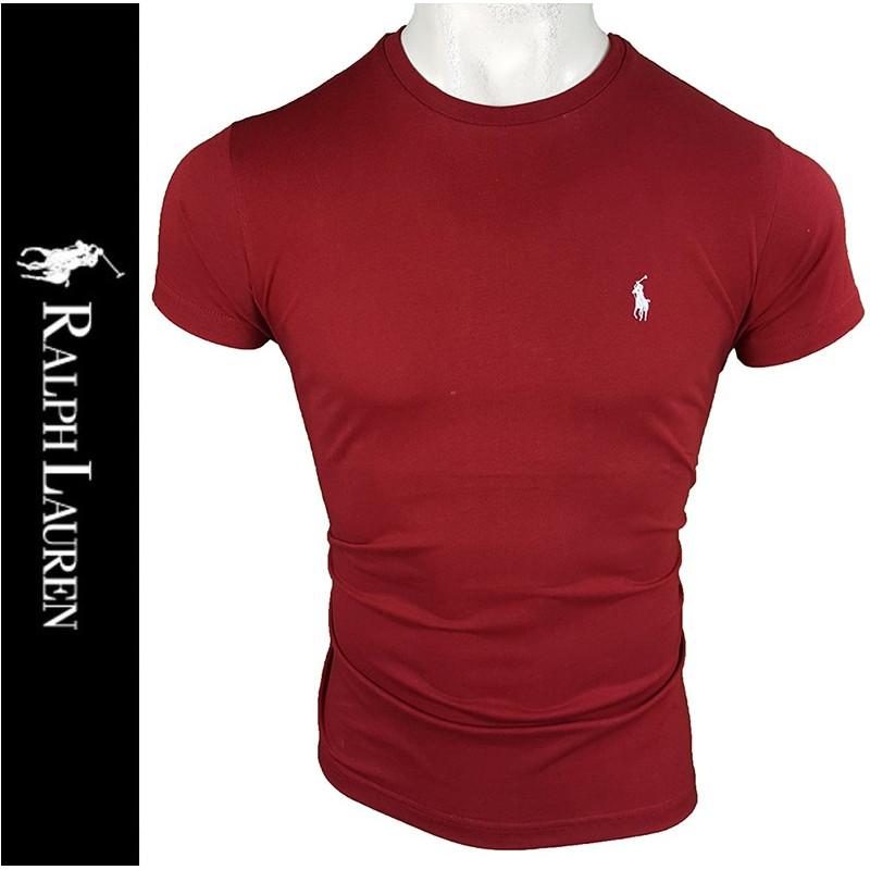 Camiseta R.L. Hombre Bordeaux Ref.2396