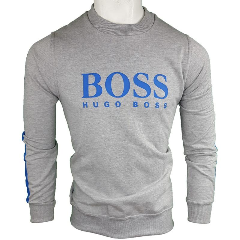 Jersey Hugo Boss Hombre Gris Ref.9127