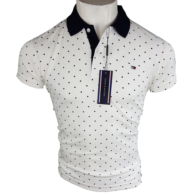 Polo Tommy Hilfiger Hombre Blanco Ref.4198
