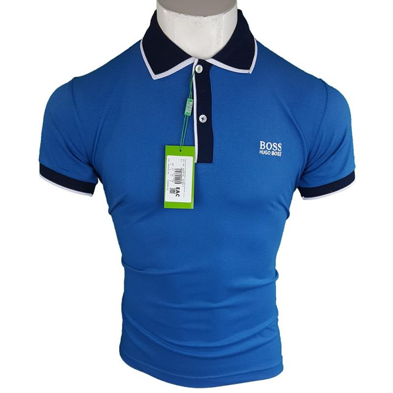 Polo Hugo Boss Hombre Azul Ref.9147