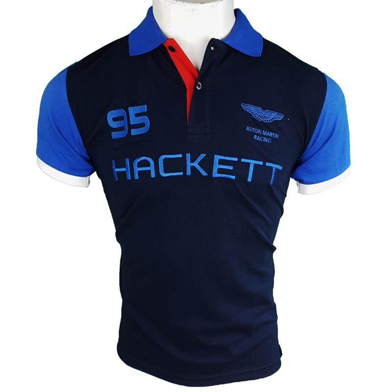Polo Hackett London Hombre Azul Marino Ref.10515