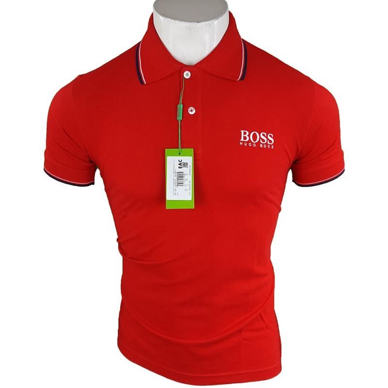 Polo Hugo Boss Hombre Rojo Ref.9157