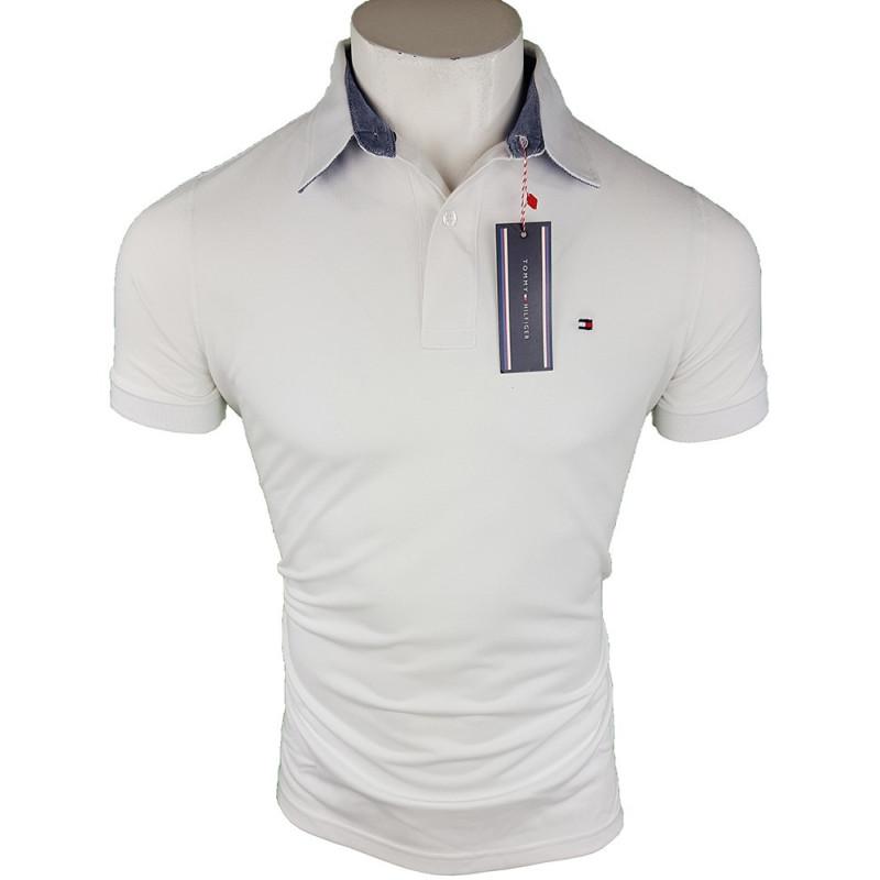 seleccione para el más nuevo bueno como encontrar Polo Tommy Hilfiger Hombre Blanco Ref.4228 - Outlet Best Brands