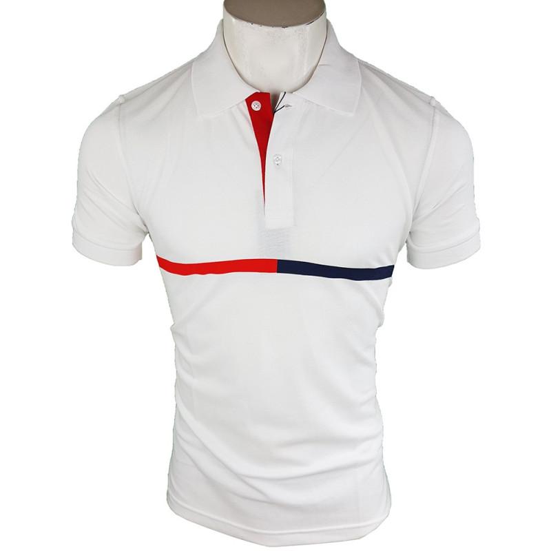 diferentemente venta barata del reino unido amplia selección de diseños Polo Tommy Hilfiger Hombre Blanco Ref.4249 - Outlet Best Brands