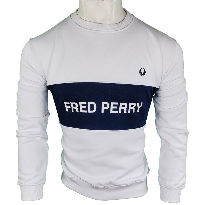 Jersey Fred Perry Hombre Blanco Ref.1797