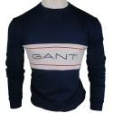 Jersey Gant Hombre Azul Marino Ref.3249