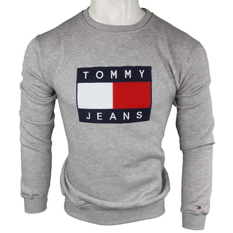 Jersey Tommy Hilfiger Hombre Gris Ref.4316
