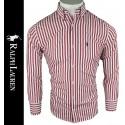 Camisa R.L. Hombre Roja Ref.2348